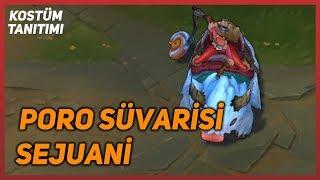 Poro Süvarisi Sejuani (Kostüm Tanıtımı) League of Legends