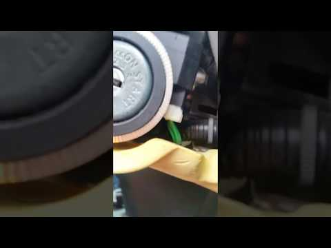 How to reset the immobiliser control unit