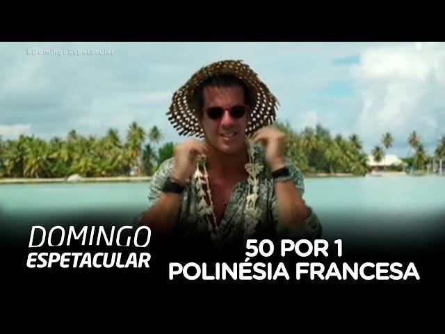 Álvaro Garnero mergulha no paraíso natural da Polinésia Francesa
