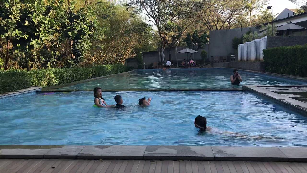 Kolam Renang The Gardens Cirebon Youtube