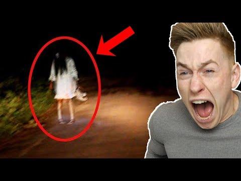 Echte Geister, die live auf Kamera aufgenommen wurden