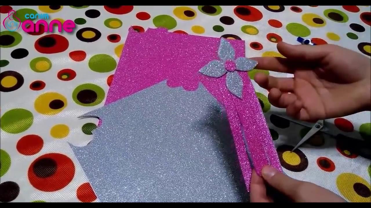 Eva Kağıdından Kitap Ayracı Yapılışı - Okula Dönüş , Canım Anne