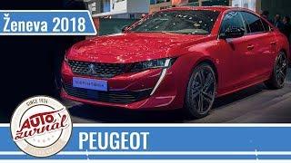 Odvážny Peugeot 508 a praktický rodinný Rifter - Autosalón Ženeva 2018