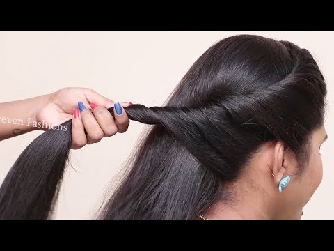Beautiful hairstyles for wedding guest || hair style girl || easy QUick hairstyles for girls