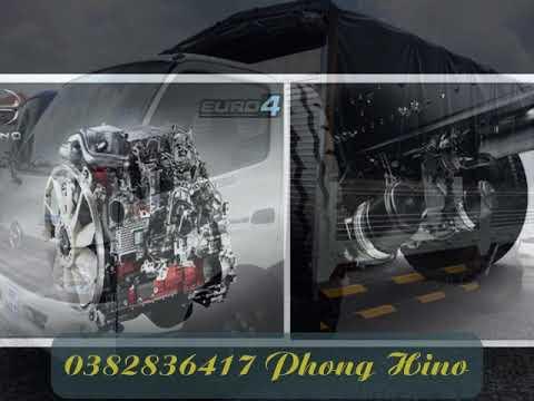 Xe tải hino 1.9 tấn / 1T9 / 1,9 tấn / 1,9 T thùng mui bạt - Bán xe hino tải 1T9 nhập khẩu