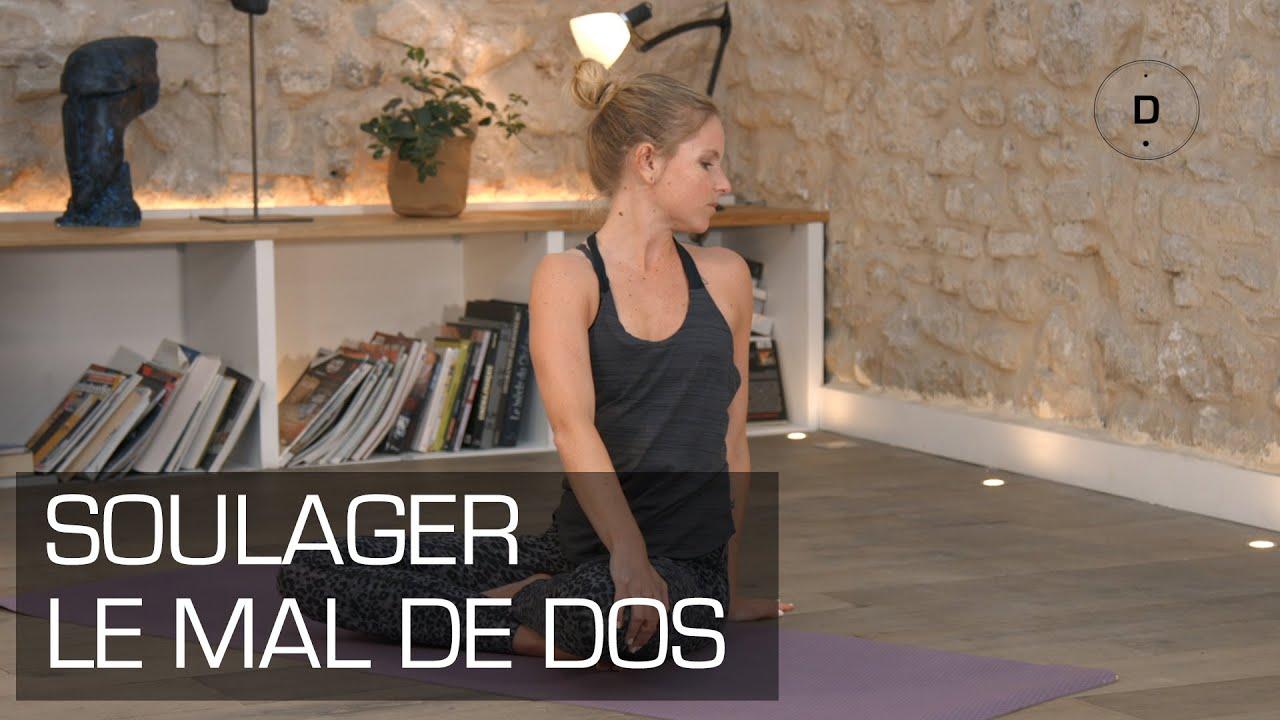 yoga pour soulager le mal de dos yoga master class youtube. Black Bedroom Furniture Sets. Home Design Ideas