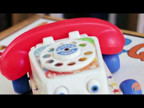 Vintage Fisher Price Chatter Phone Pull Toy | DoYouRemember?