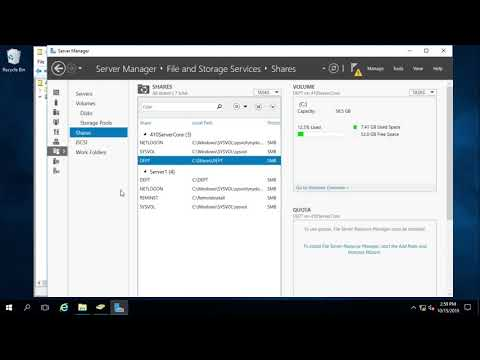Active Directory Home Folder Automatic Creation & Mapping