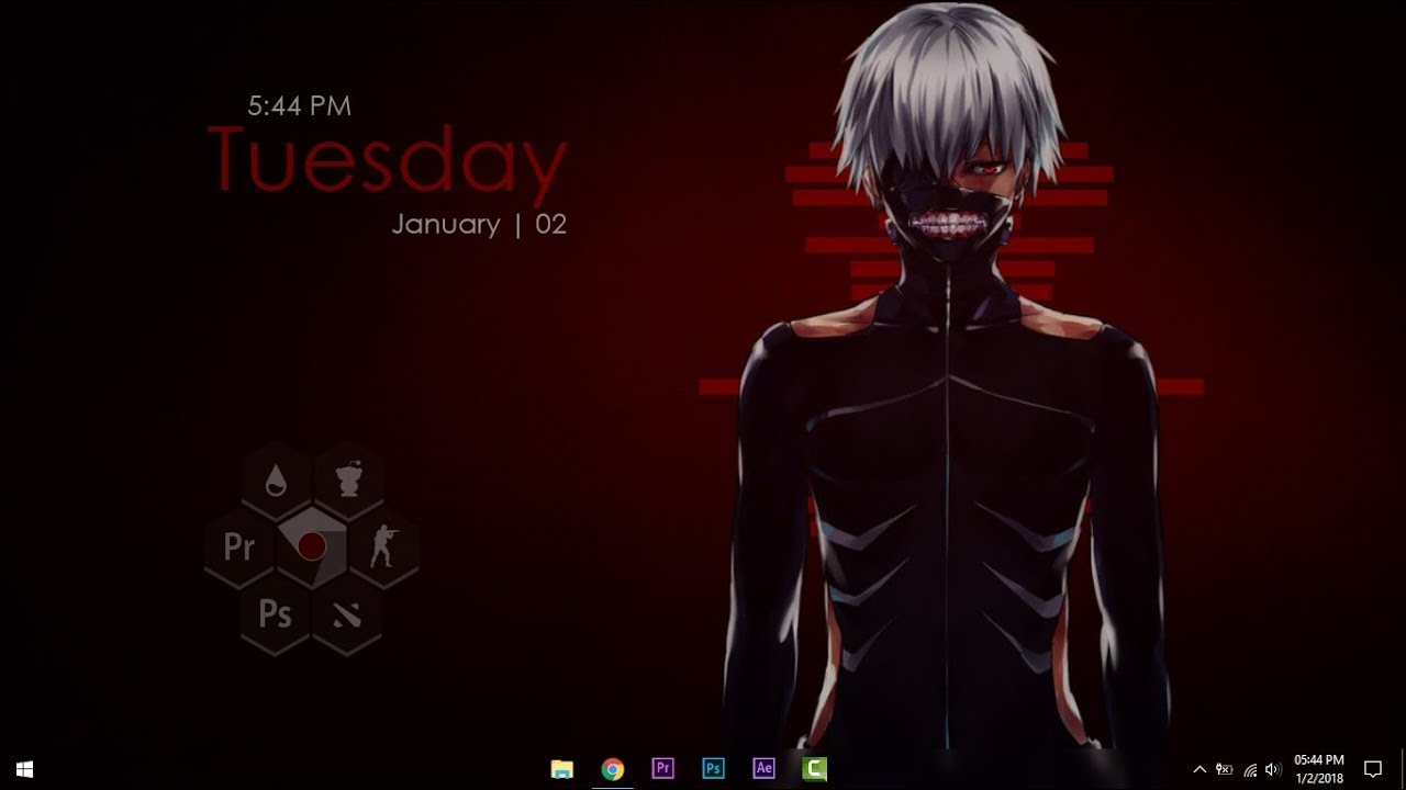anime tokyo ghoul youtube: Anime Tokyo Ghoul Desktop