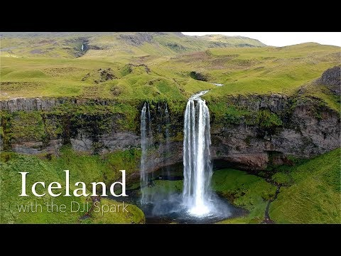 Iceland with the DJI Spark