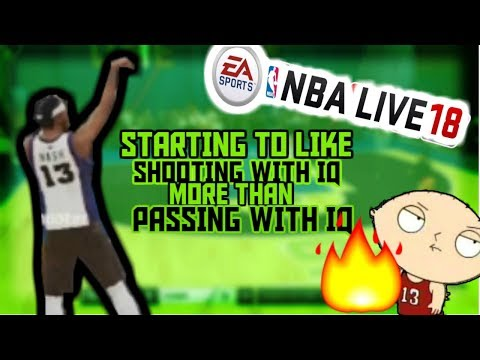 I Think I Like Shooting with IQ More than Passing with IQ : NBA live 18