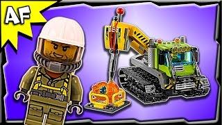 Lego City Volcano Crawler 60122 Stop Motion Build Review