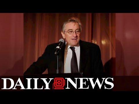 Robert De Niro vows to rebuild island of Barbuda after Hurricane Irma strike