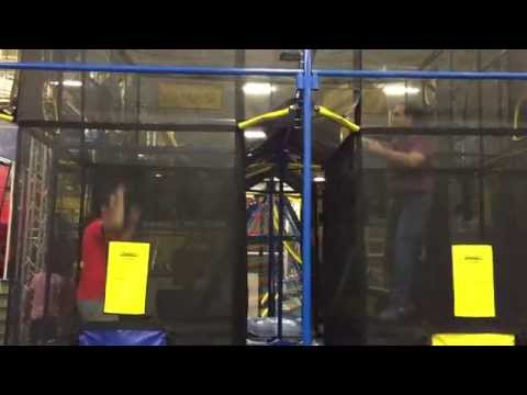 Aeroball at Planet Air Sports Trampoline Park
