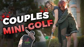 COUPLES MINI-GOLF ft. Pokimane, LilyPichu, Scarra, Based Yoona and more
