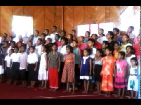 Fiji Sunday School Choir - Vunidakua (Rev Nasilivata Memorial Church)