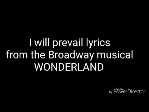 WONDERLAND~ I will prevail lyrics