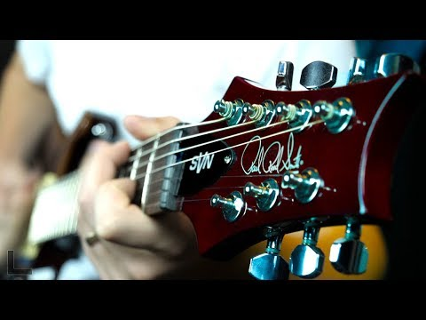 My First 7 String Guitar (Warning: head bang alert)