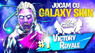 Galaxy SKIN pe FORTNITE! + Victory Royale