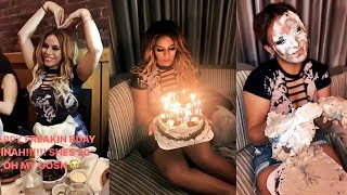 FIFTH HARMONY | Dinah's early BIRTHDAY celebration | INSTAGRAM STORIES - June 21, 2017