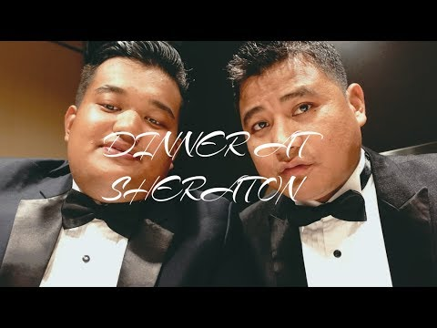 VLOG13 PART 2 BLACK TIE CHARITY DINNER AT SHERATON HOTEL
