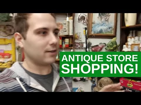 Antique Mall Vlog And Mystery Box Youtube