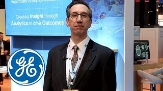 Learn about analytics solutions at GE Healthcare booth #4137 at RSNA