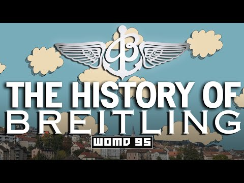 WOMD 95 L The History Of Breitling: The Evolution Of The Chronograph & The Quest For Precision
