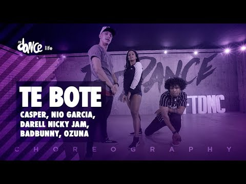 Te Bote - Casper, Nio García, Darell, Nicky Jam, Bad Bunny, Ozuna | FitDance Life (Choreography)