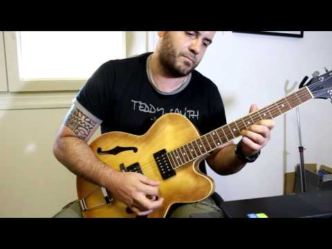 """Monsters Inc"" (jazz guitar version)"