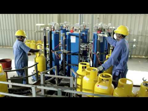 UNIVERSAL  LPG GAS CYLINDER FACTORY VIDEO