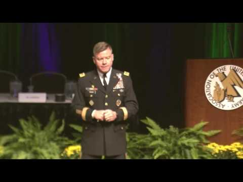 AUSA 2017 - GEN David Perkins, Commanding General, U.S. TRADOC