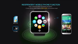 vsun smart watch phone mtk6260d 2 5d ips curved screen sms sedentary reminder sleep monitor