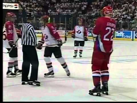 1999 World Junior Gold Medal Game Canada VS Russia AT WINNIPEG ARENA Part 7 / 10