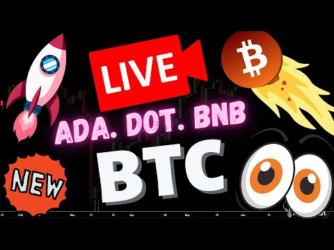 *LIVE Crypto Trading*  ADA \u0026 BTC WATCH PARTY!   Bitcoin Cardano Ethereum Price Update March 2020
