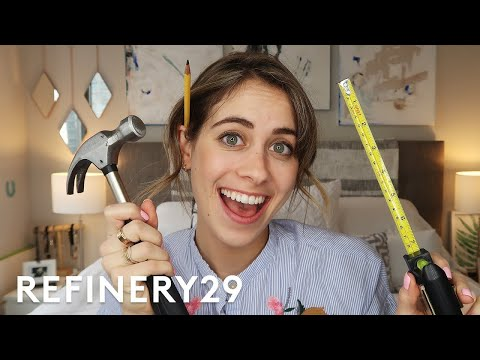I Learned How To Be An Interior Designer | Lucie For Hire | Refinery29