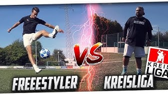 Kreisliga Fussballer vs Fussball Freestyler - DAS DUELL! ft. David Rau PMTV