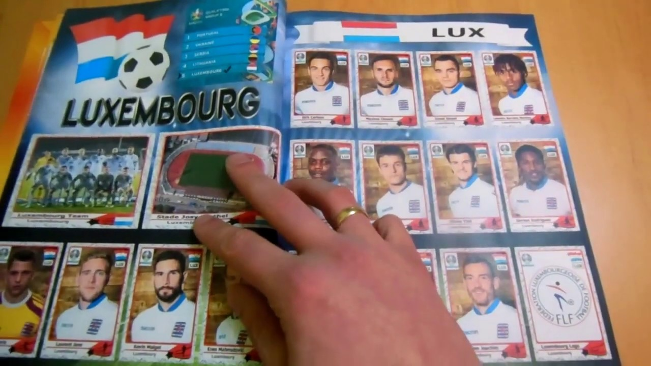 Road To Euro 2020 Football Album Full 100 Complete Not Panini