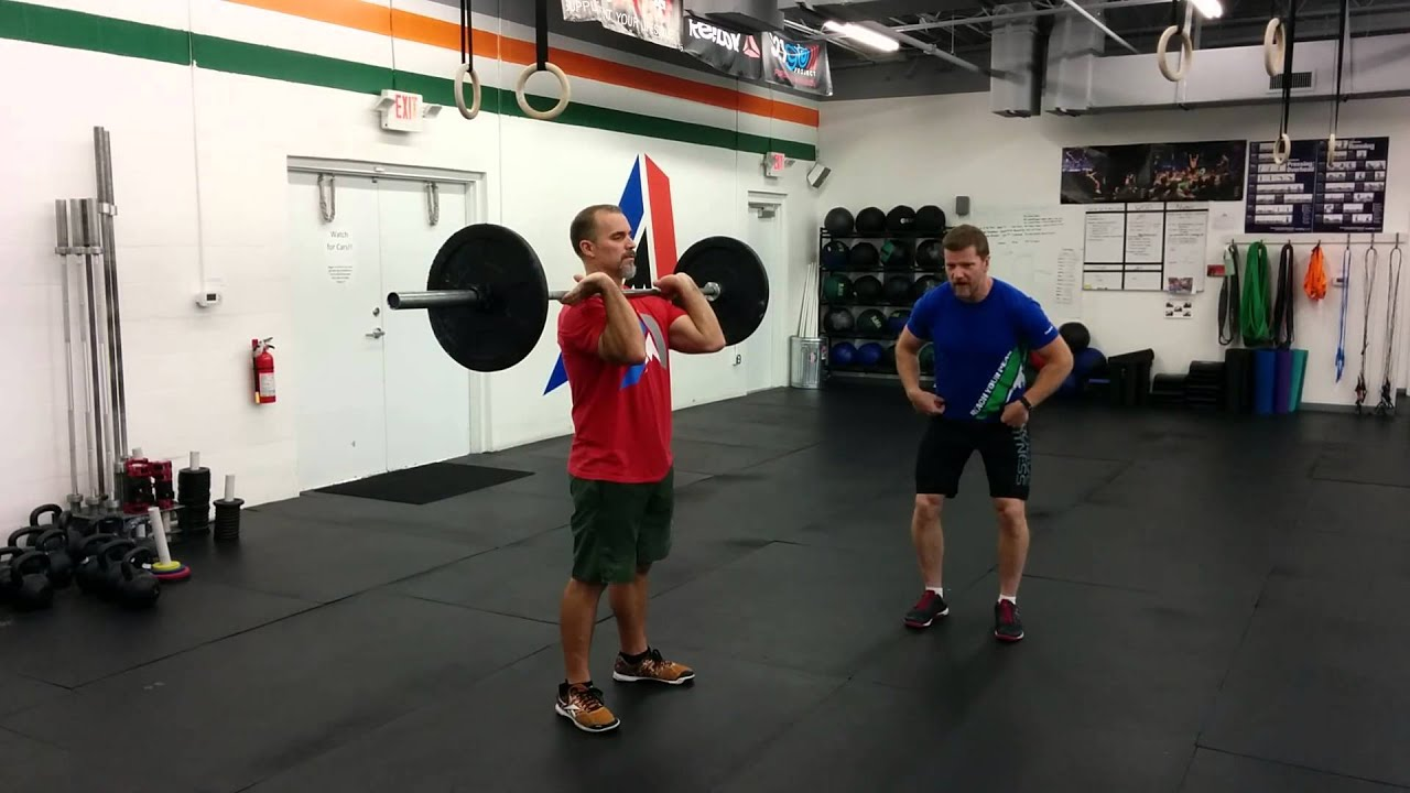 CrossFit Instructional Series: The Push Press - YouTube