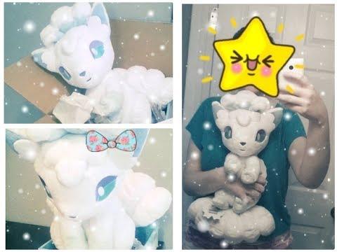 Takara Tomy 1/1 Lillie`s Snowy Alolan Vulpix - Unboxing