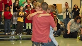 Denton Soldier Surprises Kids With Holiday Trip Home