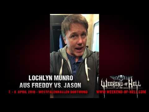 Lochlyn Munro (Scary Movie; Freddy vs. Jason) @ Weekend of Hell 2018 - DORTMUND