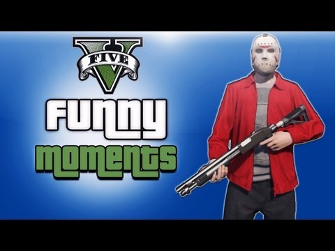 GTA 5 Online Funny Moments Ep. 3 (Circle...