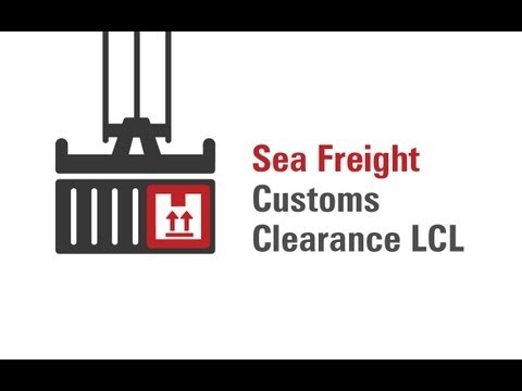 Sea Freight Customs Clearance LCL