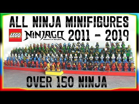 ALL NINJA MINIFIGURES 2011 - 2019 | LEGO Ninjago