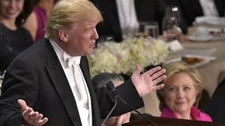 Al Smith Gala: Trump on Clinton