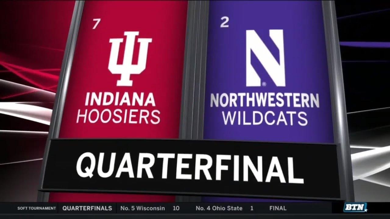 Highlights: Indiana vs  Northwestern   B1G Softball Tournament -  Quarterfinals