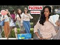 GIRL Droping Sanitary Pad in Public!PADMAN PRANK!Social Experiment!FUNKYTV