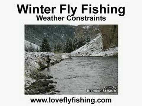 Winter fly fishing flyfishing for beginners youtube for Beginning fly fishing