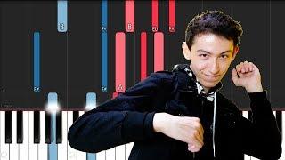 Sub Urban - Cradles (Piano Tutorial)